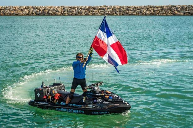 Marina de Casa de Campo recibe a Álvaro de Marichalar en su travesía por el mundo