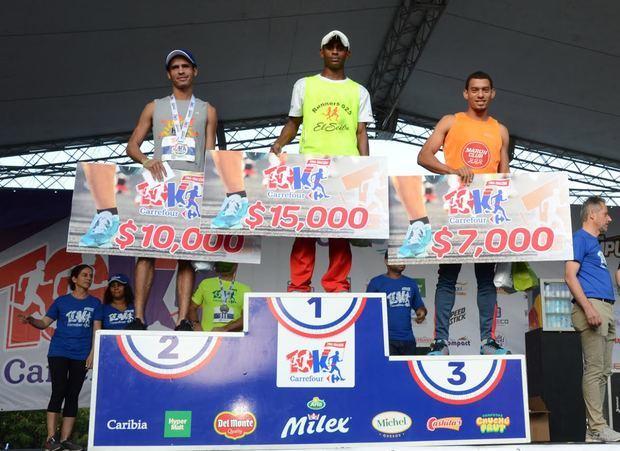 Medina y Rodríguez Beltré conquistan maratón Carrefour 10K
