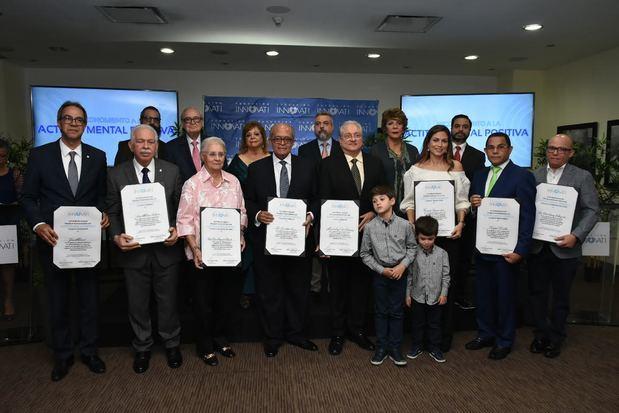 Fundación Innovati reconoce personalidades por sus aportes en valores al desarrollo de la RD