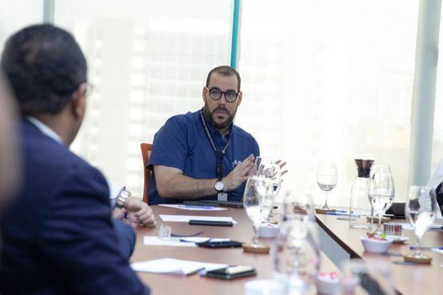 Director Ejecutivo de Autoridad Portuaria Dominicana, Lic. Víctor Gómez Casanova.