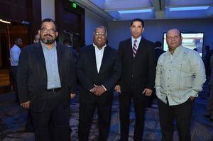 Guilber Cairos, Samuel Francisco, Virgilio Castillo y Henry Rodriguez.