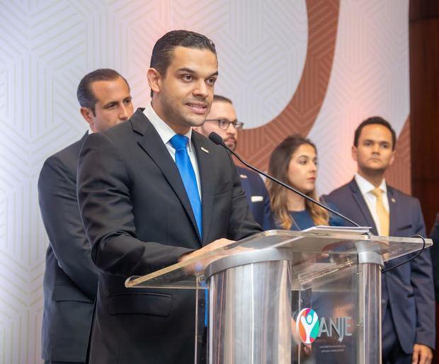 Radhamés Martínez, presidente Asociación Nacional de Jóvenes Empresarios (ANJE).