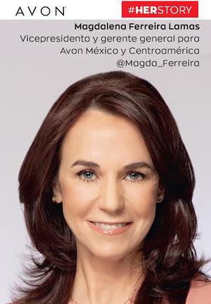 Magdalena Ferreira - Lamas Vicepresidenta y gerente general para Avon México y centroamérica.