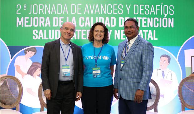 Mauricio Ramírez Villegas, Rosa Elcarte y Wenceslao  Soto.