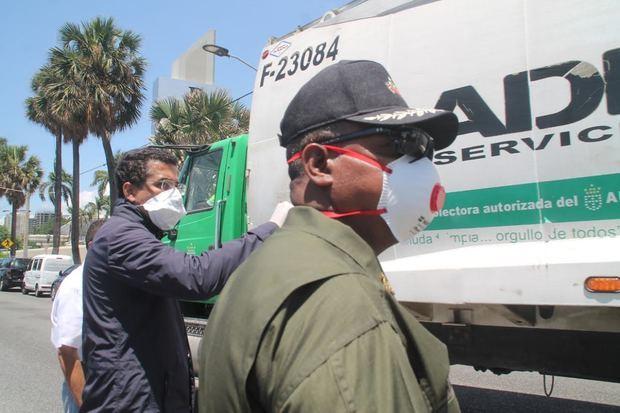 David Collado se despide de la ciudad con un amplio operativo de limpieza.