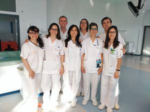 Enfermeras dominicanas.