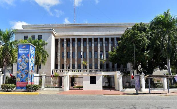 Edificio del  Ministerio de Educación, MINERD.
