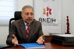 Leonel Castellanos Duarte, presidente de la Asociación Nacional de Empresas e Industrias Herrera, ANEIH.