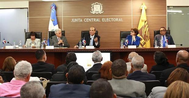 Cinco partidos solicitan a JCE adicionar medidas a Protocolo Sanitario en tiempos de Covid-19