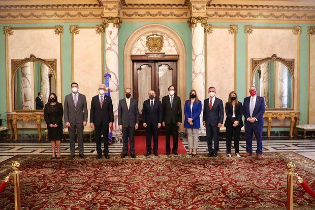 Presidente Danilo Medina se reunió con directivos de ASIEX