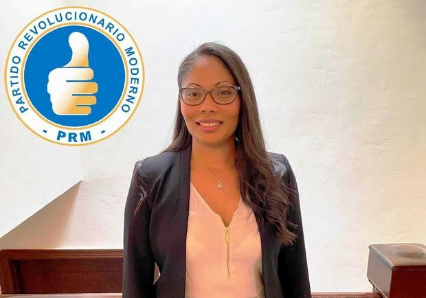 Mariel Pichardo, coordinadora de campaña del PRM.