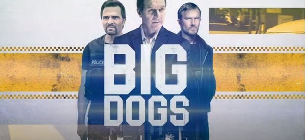 Promocional de la serie Big dogs, de Amazon Primer Video.