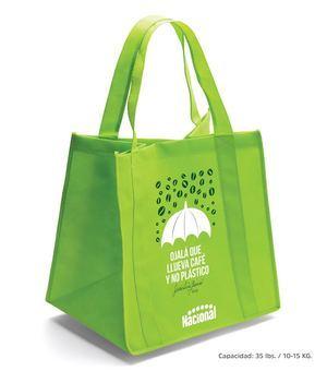 Las bolsas reusables sirven para concientizar a la población sobre el cuidado del medioambiente.