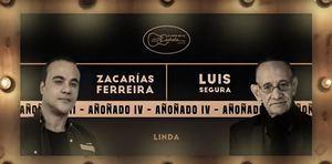 Zacarías Ferreira y Luis Segura en una canción linda.