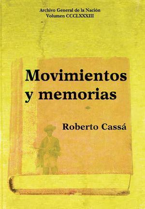 Portada libro ' Movimientos y Memoria'