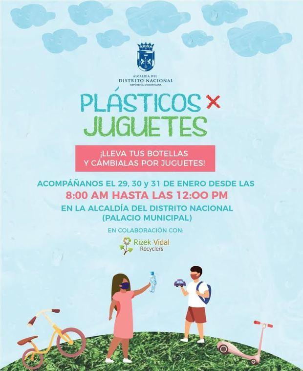 Afiche 'Plásticos x Juguetes'