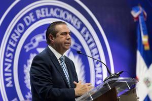 En la imagen, el ministro dominicano de Turismo, Francisco Javier García.