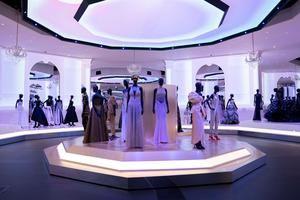 Presentación de la exposición 'Christian Dior: Designer of Dreams' (Christian Dior: Diseñador de sueños), en el museo Victoria & Albert, en Londres, Reino Unido.