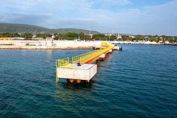 Presidente Abinader inaugura nuevo Puerto de Barahona