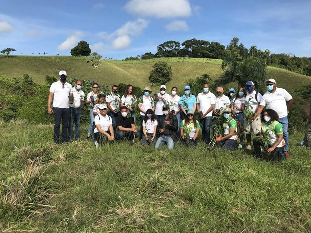 Cámara de Comercio de Puerto Plata conmemora mes del medio ambiente con jornada de reforestación
