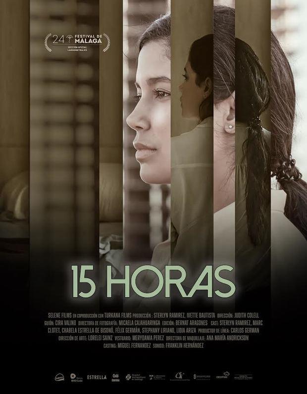 Afiche '15 horas'.
