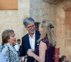 Rosa María Nadal, Dr. Volker Pellet, Embajador de Alemania y Yolanda Borraís.
