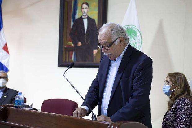 Dr. Wilfredo Lozano ingresa a la Academia Dominicana de la Historia como miembro correspondiente nacional