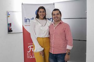 Juliette Villalona y Ricardo Lazala.