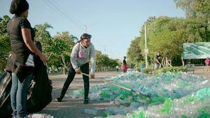Acumulación de desechos plasticos en RD.