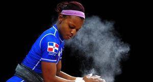 Beatriz Pirón fue la atleta de mejor desempeño del deporte de levantamiento de pesas en los Juegos Panamericanos de Lima, Perú.