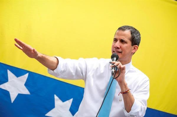 El líder opositor venezolano Juan Guaidó.