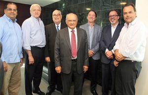 Eduardo Rodríguez, Nelson Peña, Enrique Fernández, Avelino Abreu, Avelino Rodríguez, Luís Rodríguez y Ramón Morales.