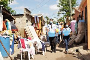 Scouts Dominicanos entregan ayudas en Hato Mayor a afectados Tormenta Isaías.