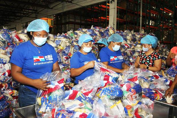 Abinader ordena entrega alimentos en comunidades más afectadas por Laura