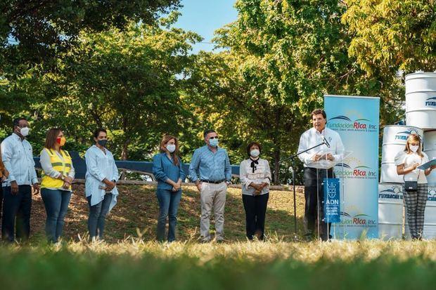 ADN recibe donación de 200 tanques de la Fundación Rica