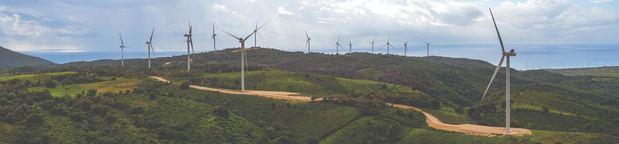 Parque eólico Larimar.