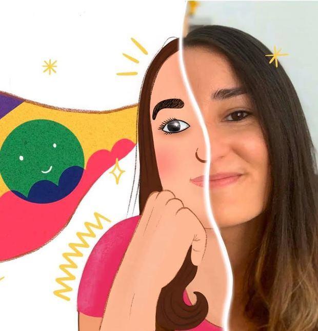 Taína Almodóvar, ilustradora y autora de literatura infantil, fue la primera representante dominicana en la Feria Internacional del Libro Infantil de Bologna 2020.