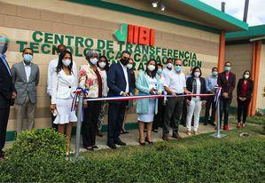 IIBI inaugura Centro de Transferencia Tecnológica y Capacitación con más 400 productos para transferir.