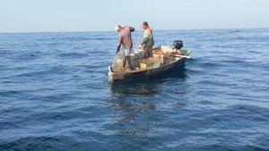 Armada de RD realizó un operativo marítimo en la zona de los Cayos 7 Hermanos.
