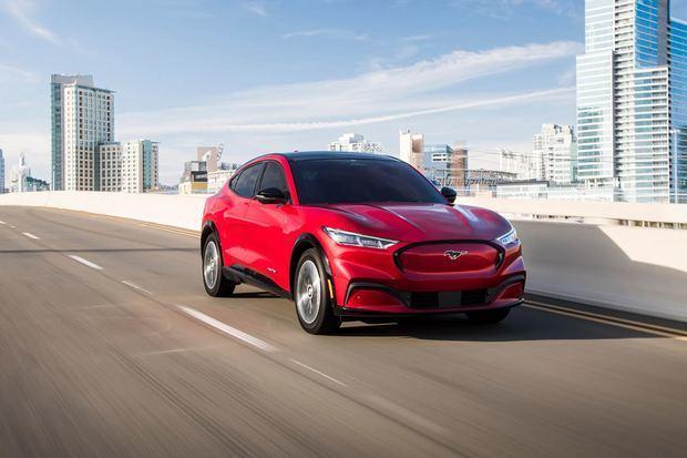 El nuevo y totalmente eléctrico Mustang Mach-E.