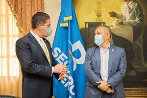 El Ministerio de la Presidencia y Seguros Reservas formalizaron un acuerdo de colaboración que permitirá garantizar el aseguramiento de las viviendas.