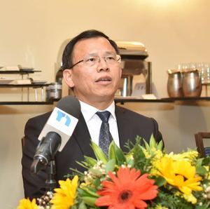 Xianchun Chen, director de la Oficina de Turismo de la provincia de Hunan, China.