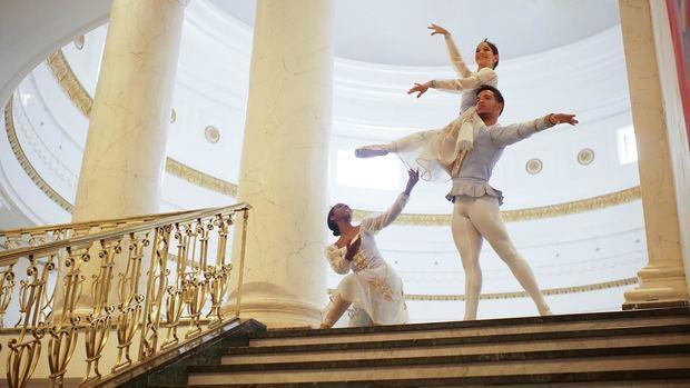 Vuelve la Navidad a los jardines del Palacio de Bellas Artes