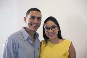 Rafael Jáquez y  Marlines Lovera.