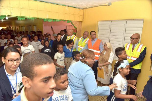 Ministro encabeza cierre Semana de Simulacros del Plan de Gestión de Riesgo en centros educativos