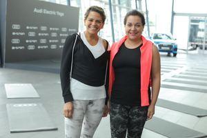 Ingrid Núnez y Fabiola Herrera.