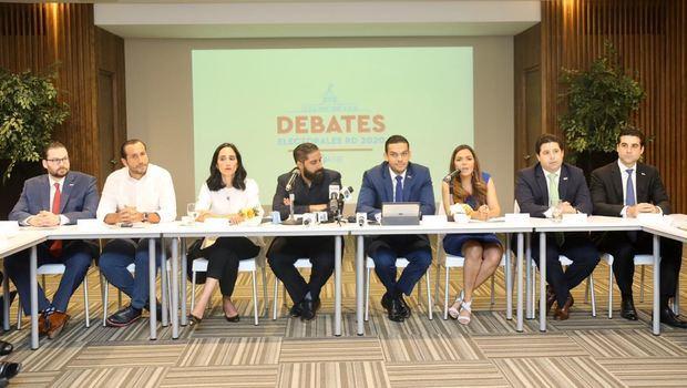 ANJE ofrece detalles de los debates electorales RD 2020