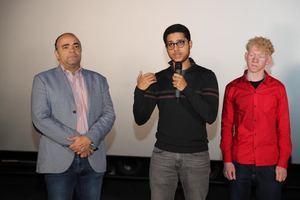 Omar de la Cruz, Héctor Valdes y  Ariel Diaz.