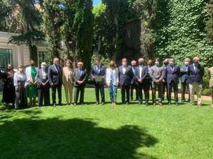 Principales grupos hoteleros españoles reconocen a Collado y a al país como destino turístico.