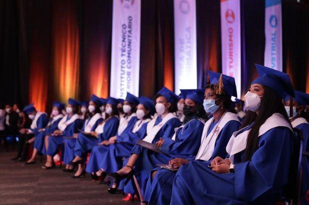 Estudiantes graduandos ITSC.